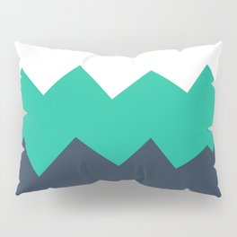 Nautical Crashes - Abstract Art Pillow Sham