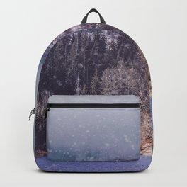 vintage landscape Backpack