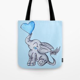 Heart for Baby (Boy) Tote Bag