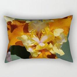 Carrot Petals Rectangular Pillow