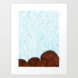 Siderastrea glynni Coral Art Print