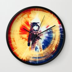 With Love From Space Wall Clock
