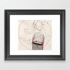 CD Illustration: Universo 2 Framed Art Print