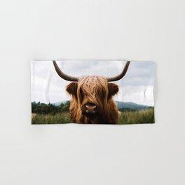 Scottish Highland Cattle in Scotland Portrait II Hand & Bath Towel