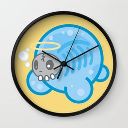 Tamanee Bubble Ghost Wall Clock