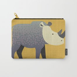 Whimsy Rhinoceros II Carry-All Pouch