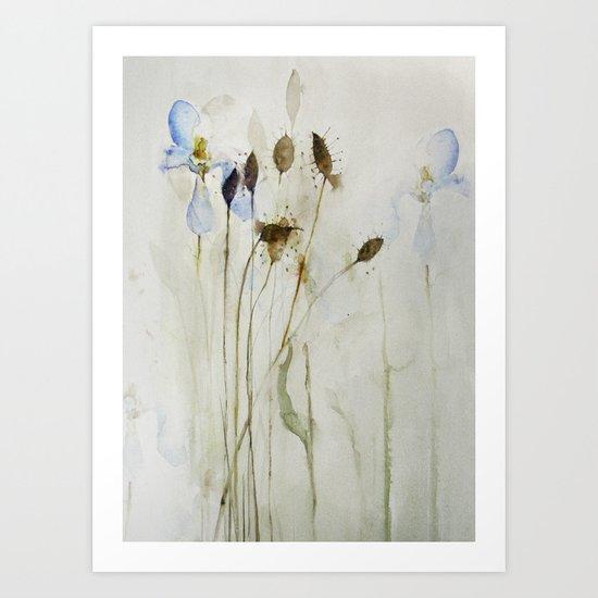 beautiful weeds Art Print