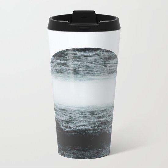 Staring at your ghost Metal Travel Mug