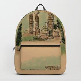 Mountain Temple of Poseidon Backpack