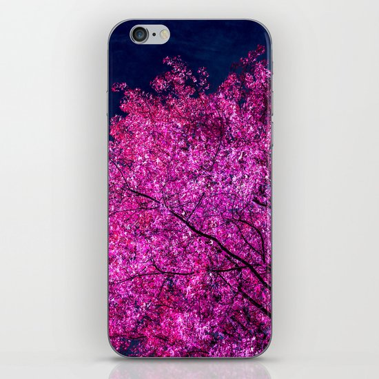violet tree IV iPhone & iPod Skin