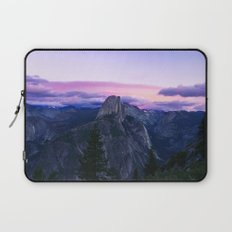 The Mountains and Purple Clouds Laptop Sleeve
