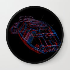 Classic Galactica 3D Wall Clock