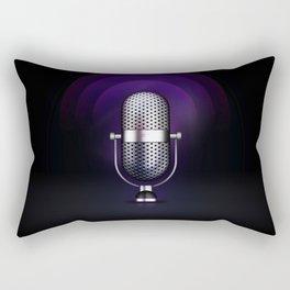 mic Rectangular Pillow