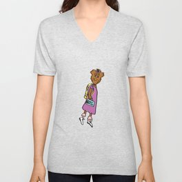Buffy the Puppy Unisex V-Neck