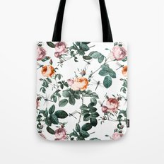 Floral and Winged Darter Tote Bag