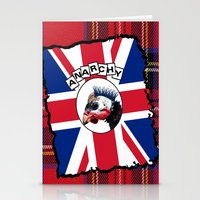 anarchy Stationery Cards featuring Anarchy by oconnart
