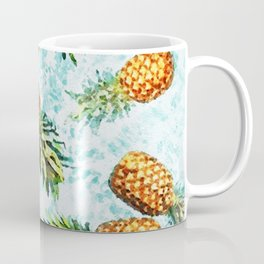 Swimming Pineapples Coffee Mug