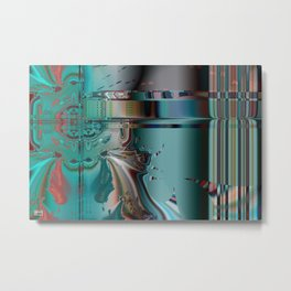 Induction Molding Metal Print
