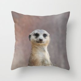 I Call Him Uncle Bob And He Was Ready For His Closeup Throw Pillow