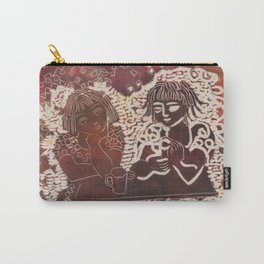 Coffee chat (untitled) Carry-All Pouch