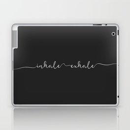 Inhale Exhale Laptop & iPad Skin