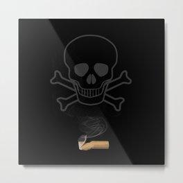 Smoking Kills CIgarette Metal Print