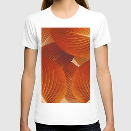 Leaves in Terracotta Color #decor #society6 #buyart T-shirt
