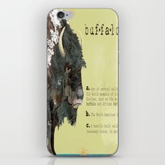 buffalo iPhone & iPod Skin
