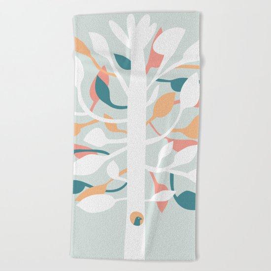 Prosperi - tree Beach Towel