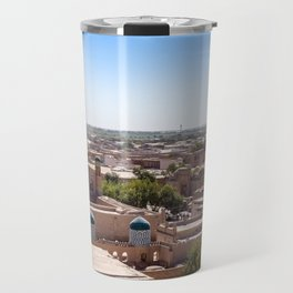 Khiva, Uzbekistan Travel Mug