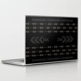 Headlands Arrows Black Laptop & iPad Skin