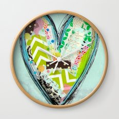 Do small things with great love. Wall Clock
