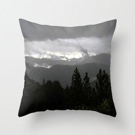 Dark Stormy morn... Throw Pillow