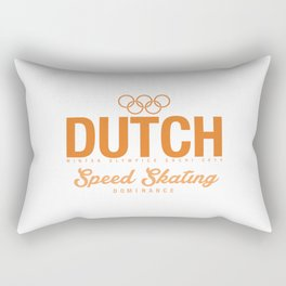 Dutch - Speed Skating Rectangular Pillow