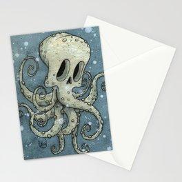 Nasty octopus Stationery Cards