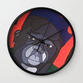 Big Poppa Wall Clock
