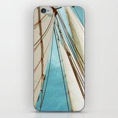 Catch The Wind iPhone & iPod Skin