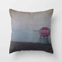 Stop. Breathe. And let it go ... Throw Pillow