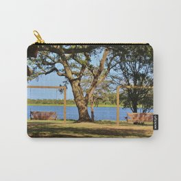 Two Wooden Swings Carry-All Pouch
