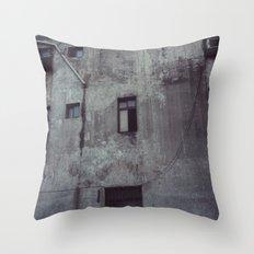 battleship island Throw Pillow