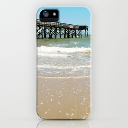Turquoise Pier iPhone Case
