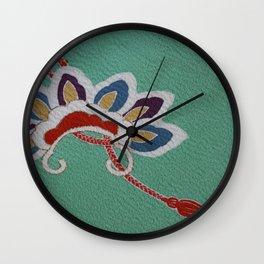 Japanese Kiku Flower (chrysanthemum) Wall Clock
