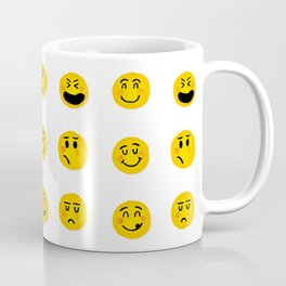 Cute Emoji pattern Coffee Mug