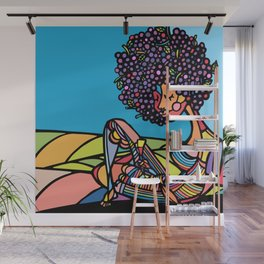 Afro Wall Mural