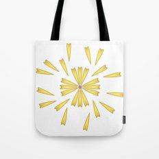 Golden Marguerite Tote Bag
