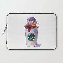 Otter Coffee Laptop Sleeve