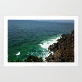 Byron Bay Sea Art Print