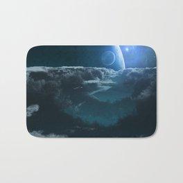 Alien Cloudscape Bath Mat