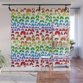 Rainbow Meta Wall Mural