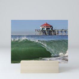 Surf City Shore-break & Ruby's Diner Mini Art Print